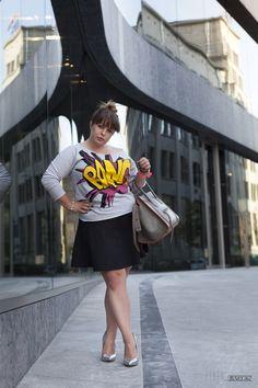 Bang bang  DeLaFashIva fashion blogger wearing size xl.  Plus size fashion  http://delafashiva.blogspot.com/2013/09/bang.html