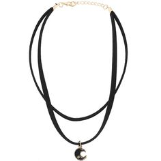 Moon Crystals Ribbon Choker Necklace (53.125 IDR) ❤ liked on Polyvore featuring jewelry, necklaces, accessories, choker, black, choker jewellery, ribbon choker necklace, ribbon jewelry, choker jewelry and ribbon choker