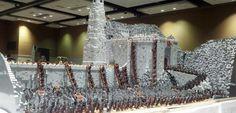 Il recrée la bataille de Fort-Le-Cor du #SeigneurDesAnneaux en #Lego #LOTR