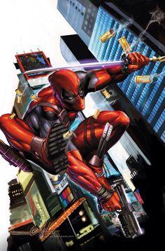 Deadpool - by Greg Horn