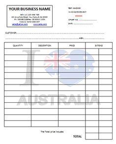 australian tax invoice 15   austrialian tax invoice templates, Invoice templates