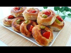 Pizza Tarifi-Pizza Poğaça Nasıl Yapılır?Poğaçalar- Gurbetinmutfagi - YouTube