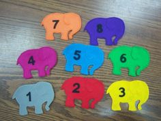 One elephant went out to play. Blog has great ideas for storytimes.