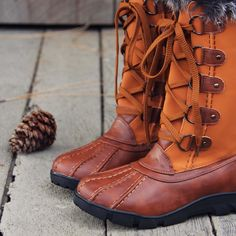 Ice & Spruce Snow Boots, Cozy Snow Boots from Spool No.72 | Spool No.72