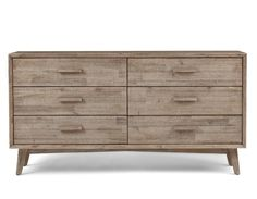 SEATTLE - 6-drawer chest - Mocha