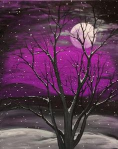 Mystical Snowfall by yvonne