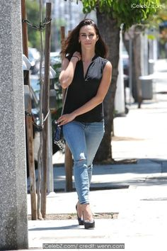Jessica Lowndes out running errands in West Hollywood