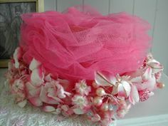 perfect pink confection of a hat!