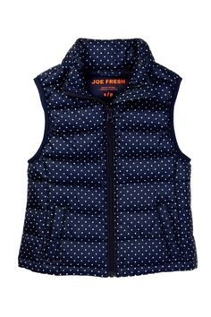 Dot Vest (Little Girls & Big Girls) by Joe Fresh on @nordstrom_rack