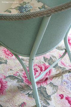 How To Repair Vintage Lloyd Loom Furniture Painting
