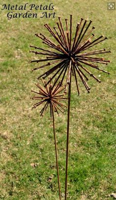 40 Utterly Beautiful Rusted Metal Art Works - Bored Art Garden Art - Rusty Nails If only I knew some Metal Yard Art, Metal Tree Wall Art, Scrap Metal Art, Metal Artwork, Tree Artwork, Metal Garden Wall Art, Outdoor Metal Wall Art, Metal Projects, Welding Projects