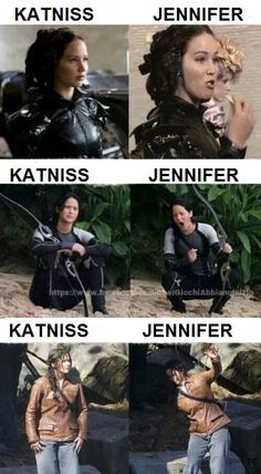 #TheHungerGames #Katniss #JenniferLawrence #JLaw #MovieSet #MovieNews #Actresses #Entertainment
