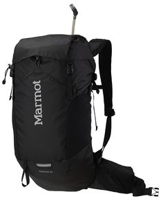 Marmot Aquifer 24 A hydration daypack with plenty of storage, the Aquifer 24 has a venting suspension, tubular aluminum frame and roll top for fast and easy access to the main compartment. Replete with all the attachments, pockets, stash zones and storage options https://marmot.com/products/details/aquifer-24