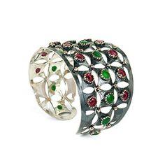 Bora  - Bora Ruby and Emerald Cuff