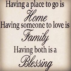 So Thankful For My Family, And My Many Friends Who turned into Family......