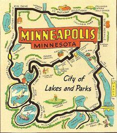 cute map of my city