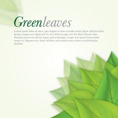 """Green Leaves"", vector graphic by DryIcons.com - available with Free, Commercial and Extended License."