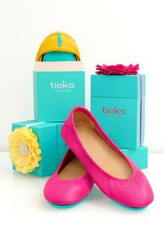 The perfect gift! - Tieks Ballet Flats They sell these in size 12...I think I will have to save up and try a pair.