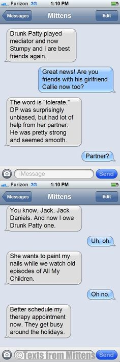 NEW daily Texts from Mittens: The Mediator Edition