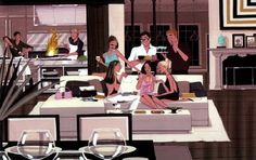 Jordi Lavanda Michel Fugain, Cc Images, Fashion Sketches, Illustration, Inspiration, Happy Hour, Cartoons, Comic, Dinner