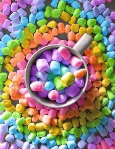 Rainbow Food, Taste The Rainbow, Rainbow Art, Over The Rainbow, Rainbow Colors, Rainbow Stuff, Rainbow Things, Rainbow Treats, Cute Food Wallpaper
