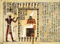 Egypt Picture - The Book of the Dead of Pinudjem I