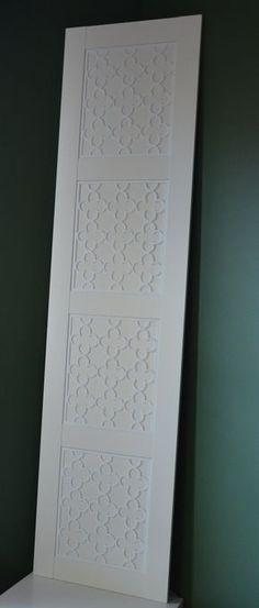 Overlay Quatrefoil for IKEA Pax Bergsbo Door