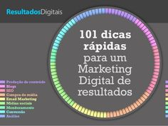 101 dicas de marketing digital - Preview by Resultados Digitais via slideshare