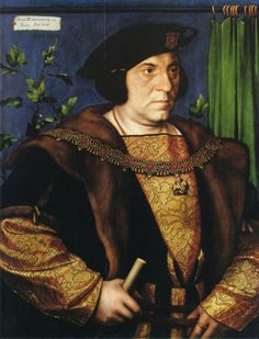 Sir Henry Guildford via Hans Holbein the Younger