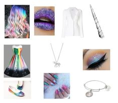 Designer Clothes, Shoes & Bags for Women Alex And Ani, Lime Crime, Unicorn, Lipstick, Polyvore, Stuff To Buy, Beauty, Design, Women