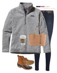 """""""Shopping"""" by annaismynameee ❤ liked on Polyvore featuring J Brand, Patagonia, L.L.Bean, Honora, NARS Cosmetics and Michael Kors"""