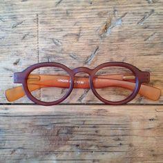 Brown round plastic reading glasses or optical by LookEyewear, $35.00