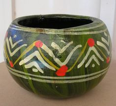 Hey, I found this really awesome Etsy listing at https://www.etsy.com/listing/153685741/vintage-mexican-terracotta-art-pottery