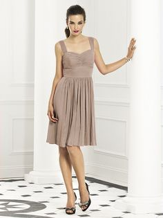 Dessy Collection Bridesmaids Style 6664  POW thought I'd throw some taupe at you (lovely in mint too)