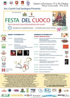 FESTA DEL CUOCO – EX VETRERIA – PIRRI – 19-20 OTTOBRE 2013