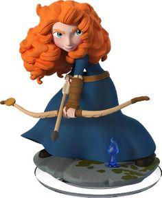Figurine 'Disney Infinity 2.0' - Disney Originals : Mérida: Amazon.fr: Jeux vidéo