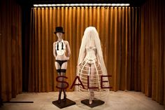 Kiki de Montparnasse - is this a window display for same sex marriage?