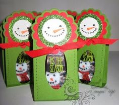 A Touch of Sol: Snowman Hand Sani Holders
