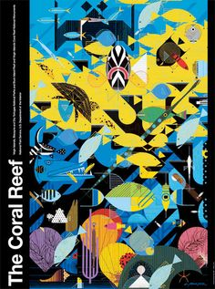 The Coral Reef, Charley Harper