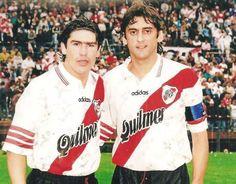 Marcelo Salas et Enzo Francescoli.