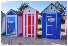 Cabines de plage à Oléron