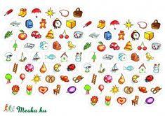ovisjelek matrica kicsi A/4 körökre rendezve (lineornament) - Meska.hu Jelsa, Sprinkles, Preschool, Candy, Education, Diy, Google, Ideas, Games