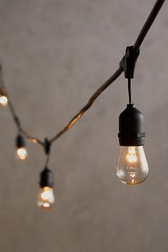 Gift Guide for Grads: Cafe String Lights