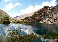 Laguna de la niña encantada -Malargue -Mendoza