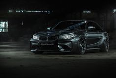 Sexy black BMW M2 with 6Sixty custom wheels, rendered in KeyShot by Nils Piirma.