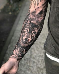men tattoos ideas for 2019 44 - tatts collection - . - Simple men tattoos ideas for 2019 44 – tatts collection – … – – -Simple men tattoos ideas for 2019 44 - tatts collection - . - Simple men tattoos ideas for 2019 44 – tatts collection – … – – - Wolf Tattoo Forearm, Wolf Tattoo Sleeve, Forearm Sleeve Tattoos, Best Sleeve Tattoos, Tattoo Sleeve Designs, Tattoo Designs Men, Tattoo Wolf, Tree Tattoo Sleeves, Forearm Tattoos For Guys