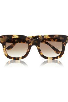 5d263c0802 Thierry Lasry - Square-frame acetate sunglasses