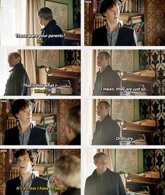 You just know that if John had known who they were at first, he'd have tried to talk to them & Sherlock was having none of that.