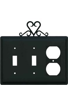 same day shipping on heart black light switch plates and outlet covers at switch hits add style to your walls by shopping from our vast selection of
