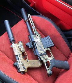 RAE Magazine Speedloaders will save you! Self Defense Weapons, Weapons Guns, Guns And Ammo, Tactical Equipment, Tactical Gear, Ar Rifle, Submachine Gun, Custom Guns, Cool Guns